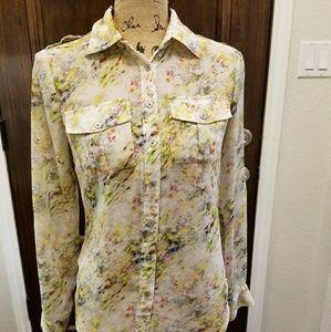 ❤ Bebe blouse sz XXS